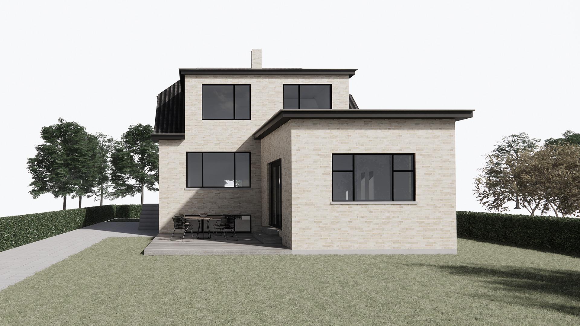 Ombygning af bungalow